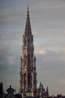 Hôtel de Ville Bruxelles      Sonnar 180mm F 2.8