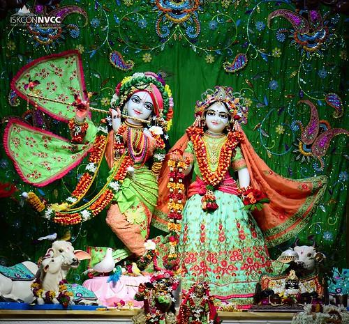 ISKCON Pune NVCC Deity Darshan 21 Sep 2019