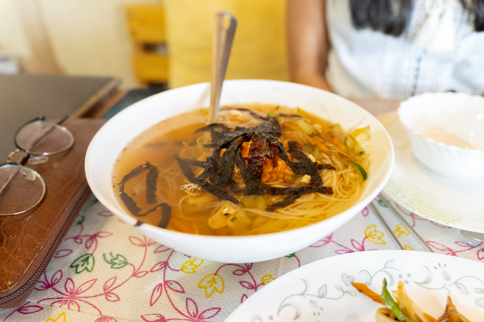Seaweed Noodle Soup