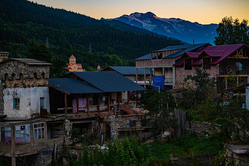 georgia2019 sunset georgia mestia samegrelozemosvaneti