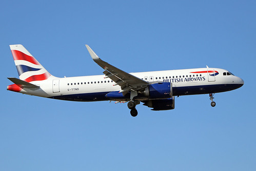 G-TTND  -  Airbus A320-251N  -  British Airways  -  LHR/EGLL 19/9/19 | by Martin Stovey