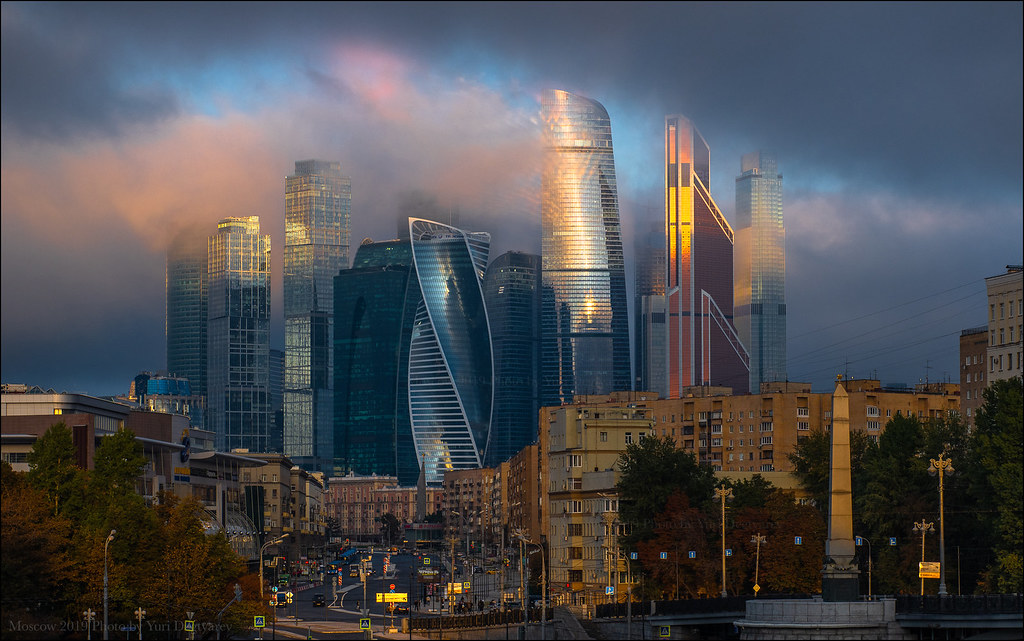 Russia. Moscow. Moscow-City.