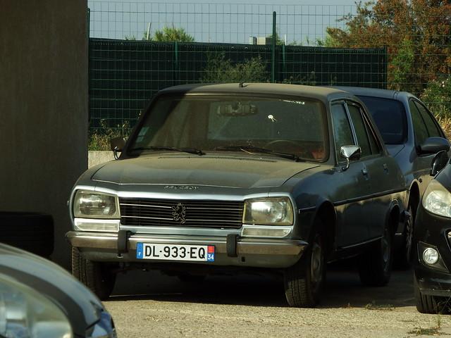 Peugeot 504 GL Berline Vias (34 Hérault) 30-08-19a