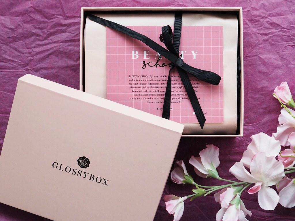 Glossybox syyskuu 2019