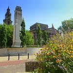 Preston Cenotaph and Harris Museum