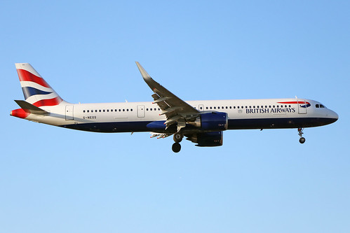 G-NEOS  -  Airbus A321 251NXSL  -  British Airways  -  LHR/EGLL 19/9/19 | by Martin Stovey