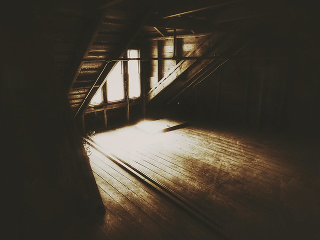 haunted spaces....