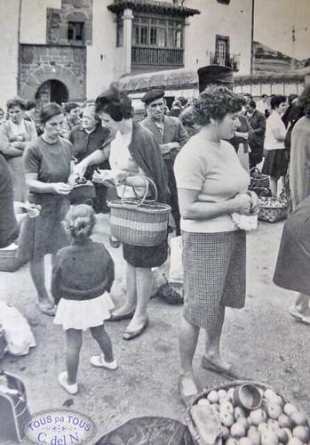 1969 - Mercado en La Plaza
