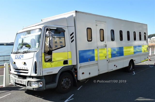West Midlands Police Iveco Eurocargo Cell Lorry BX06 YBS
