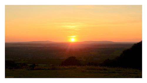 robindemel sunset dusk clenthills 19thseptember2019