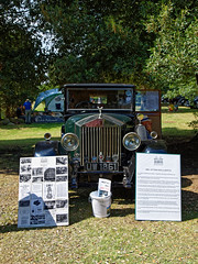 1929 Rolls-Royce Phantom I at Copped Hall, Epping, Essex, England 1