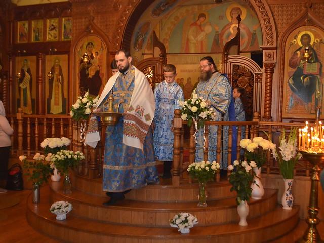Престольный праздник РОЖДЕСТВО ПРЕСВЯТОЙ БОГОРОДИЦЫ