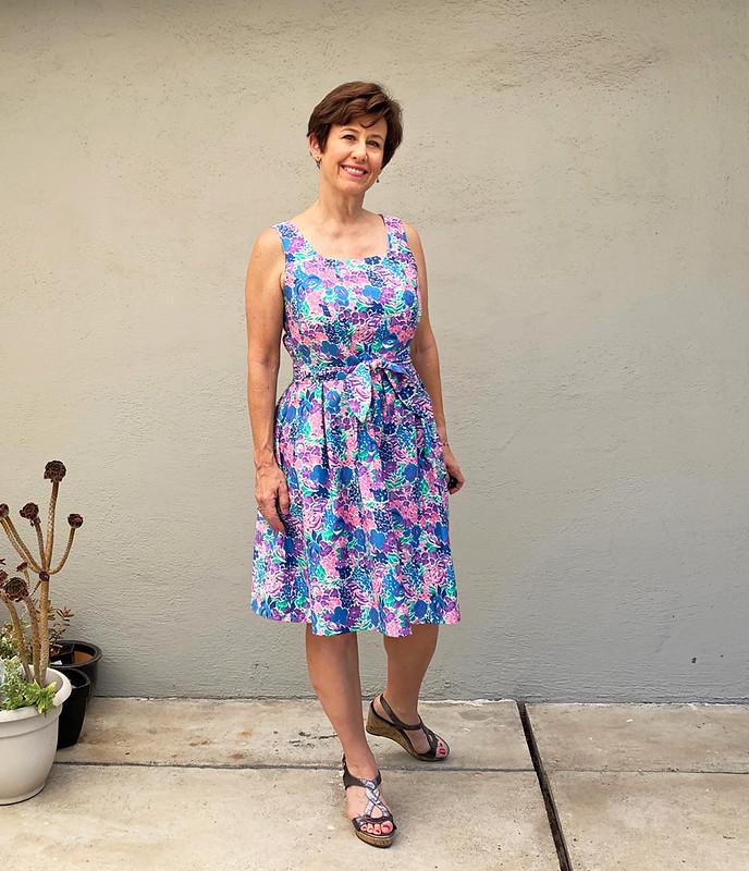 hydrang dress 1