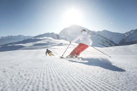 Sterzing-Ratschings/Vipiteno-Racines: lyžování bez davů nad malebným městem