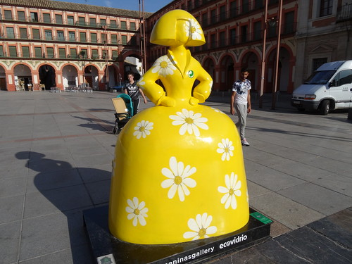 Las meninas de Velazquez en Córdoba