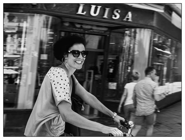 Luisa ou la joie de vivre.