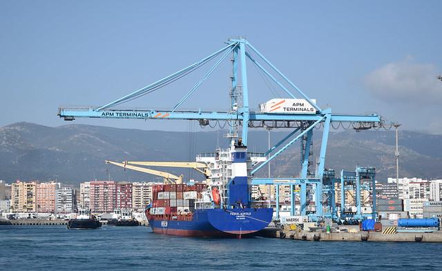 Fesco - Askold - IMO 9324942 - Port of Algeciras - Spain