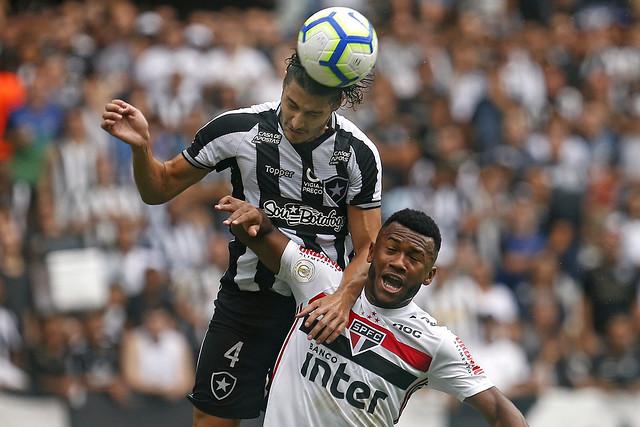 Botafogo 1 x 2 São Paulo - 21/09/2019