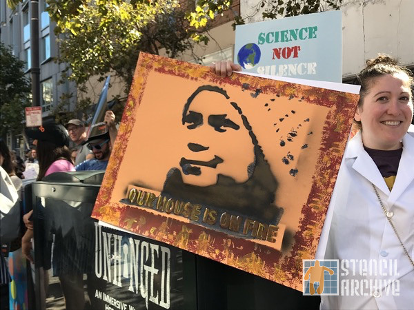 SF Protest Climate Strike 2019 Greta Thunberg