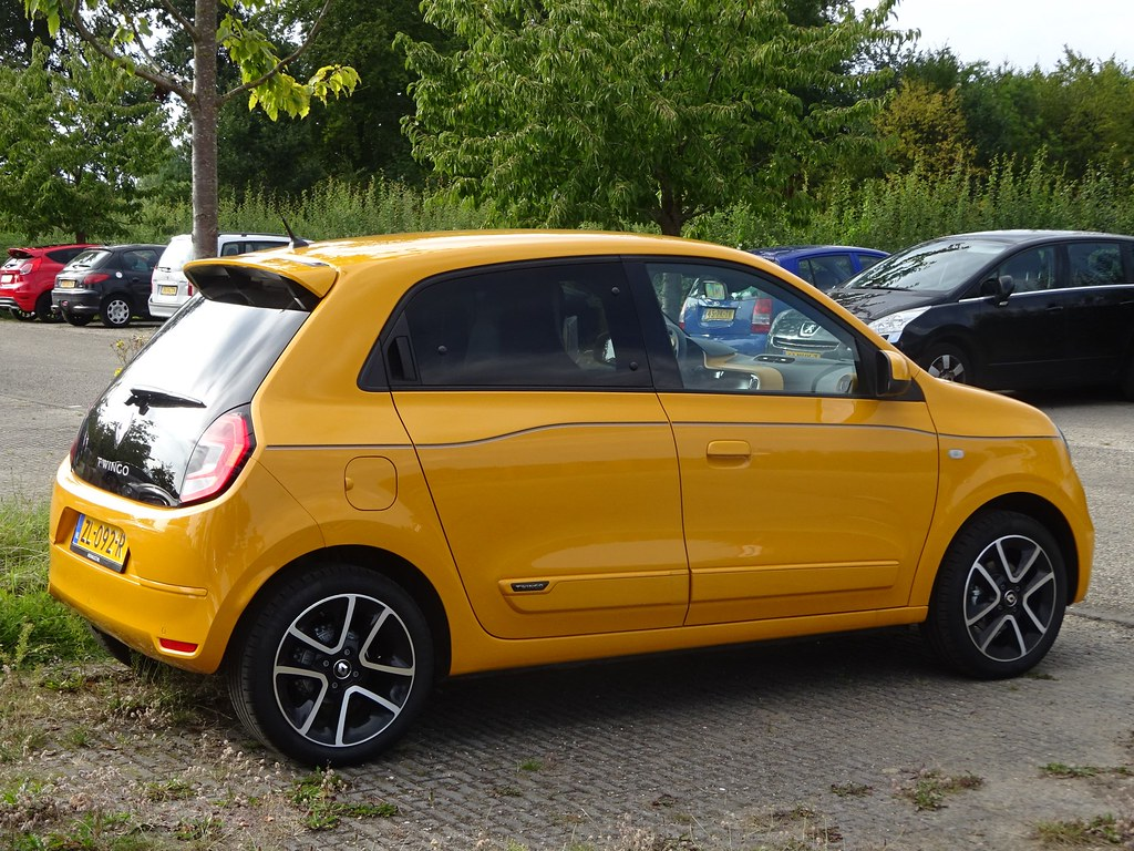 2019 Renault Twingo   The latest generation of the Renault