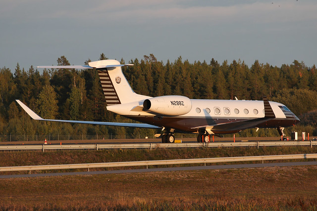 Sola irus Aviation Gulfstream G650 N288Z 190921 ARN