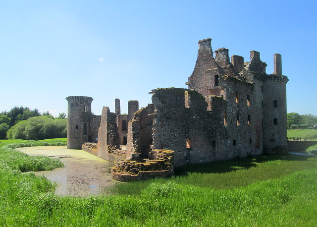 Caerlaverock Castle East Side