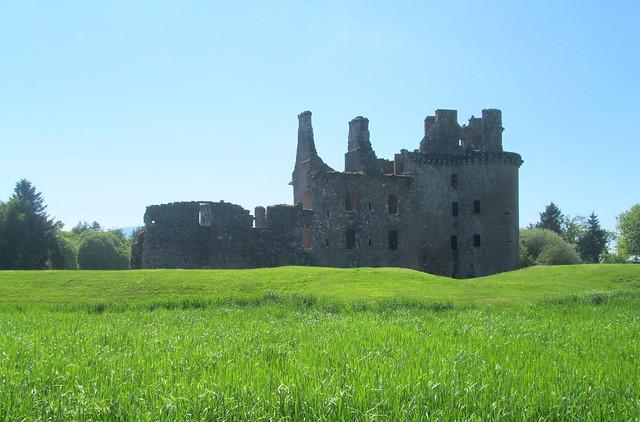 """New"" Caerlaverock Castle"