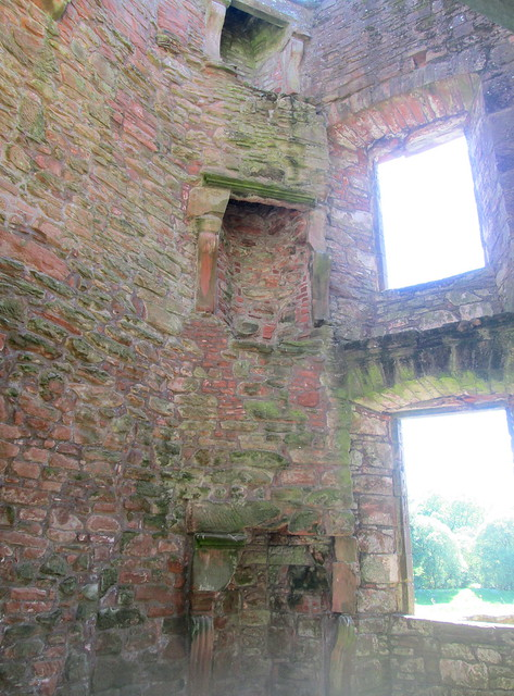 Caerlaverock Castle Interior Floors