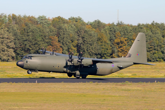 Lockheed Martin Hercules C4 ZH872 Royal Air Force