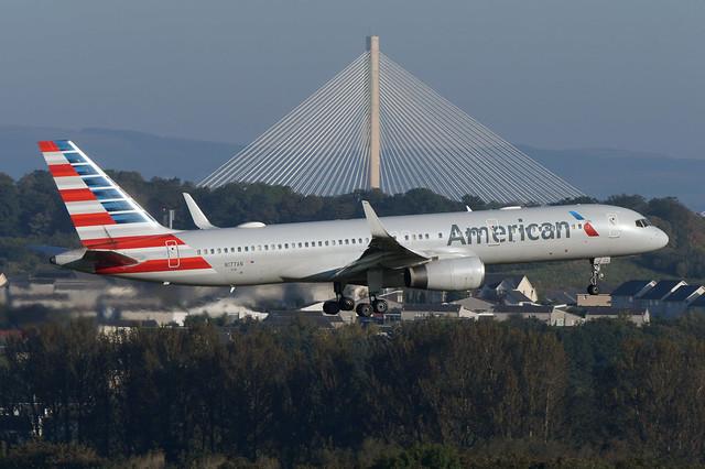 N177AN Boeing B757-223 EGPH 21-09-19