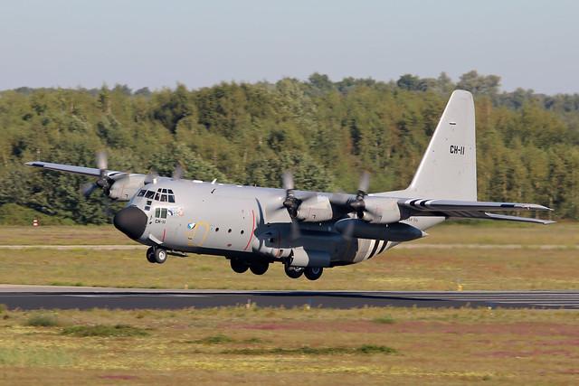 Lockheed C-130H Hercules CH-11 Belgian Air Force