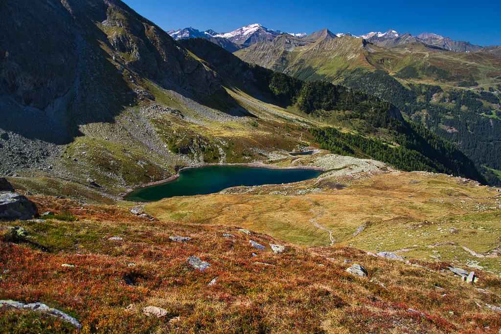 Autumn is beginning in the Alps!