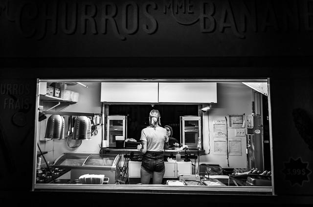 churros stall