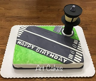 Airport Birthday Cake