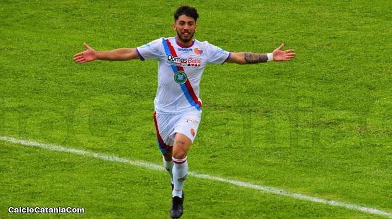 Luigi Rossitto, autore del gol, in una foto d'archivio (si ringrazia Daniele Sicilia)