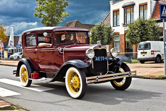 Ford Model A Tudor 1930 (9734)