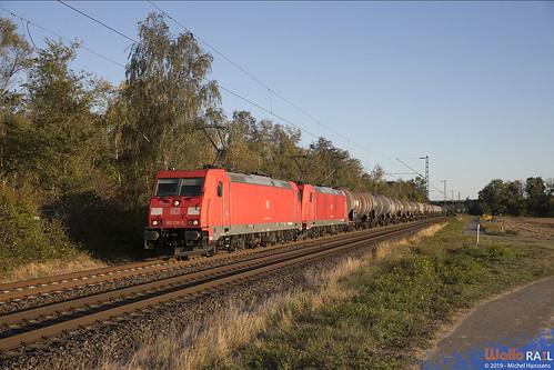 185 238 + 185 239 . DB Cargo . 47526 . Kaarst . 21.09.19.