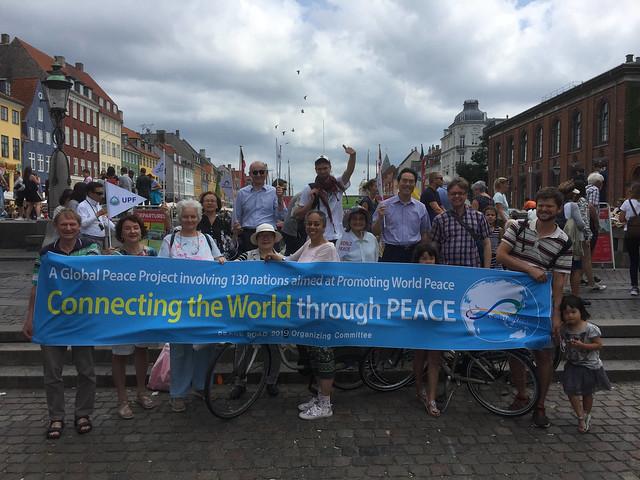 Denmark-2019-08-04-Denmark Peace Road Event Has Ocean Theme