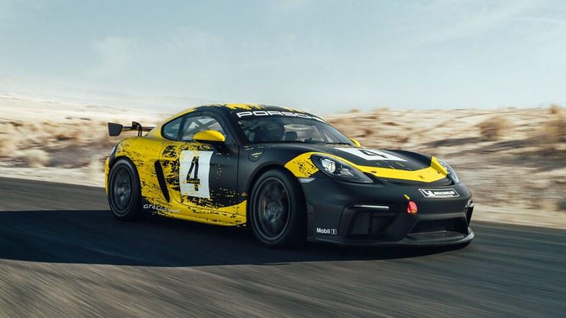 Porsche-Cayman-GT4 1