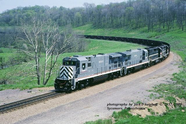 (SEE & HEAR)---GE 2001-2002-MGA-2000-2002, Sycamore, PA.  5-17-1989