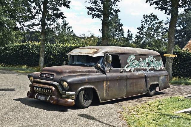 GMC 250/253 Van 1955 (6280)