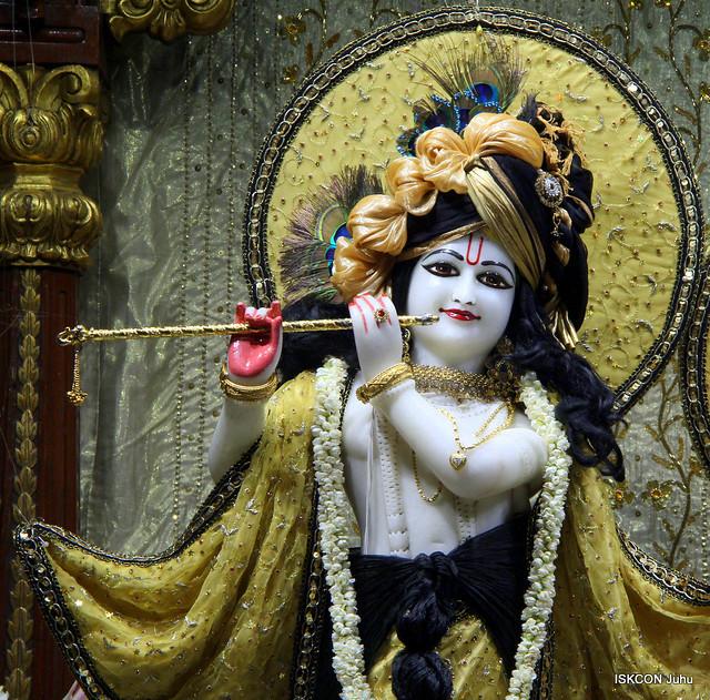 ISKCON Juhu Mangal Deity Darshan on 22nd Sep 2019