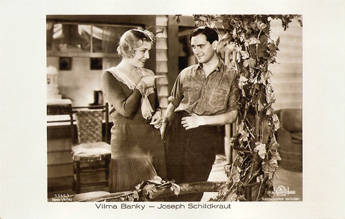 Vilma Banky and Joseph Schildkraut in A Lady to Love (1930)