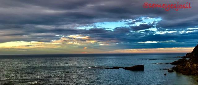 the last summer sunset #iphone7plus #gijon #asturias
