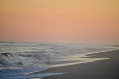 Sunset at the Atlantic Ocean