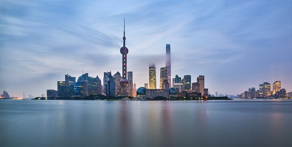P0000927 Shanghai Bund Sunrise - 24-Aug-2019