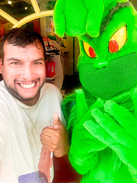 Selfie with The Grinch