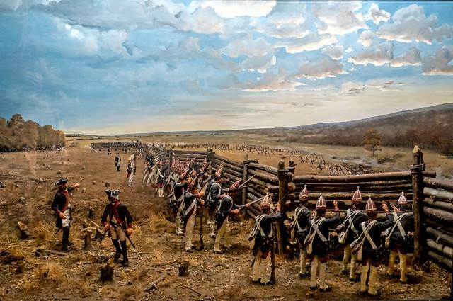 Battle panorama