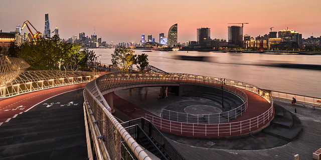 P0000920 Shanghai Pudong Sunset - 12-Aug-2019