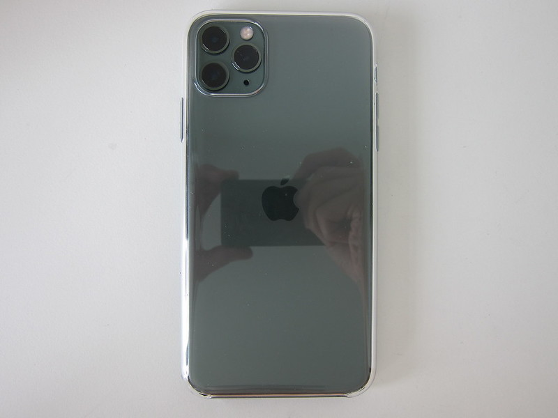 Apple iPhone 11 Pro Max Clear Case - With iPhone 11 Pro Max - Back